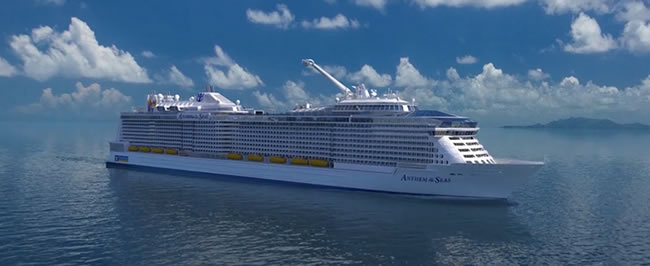 Royal Caribbean: Anthem of the Seas