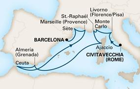 12 noches - Roma a Barcelona