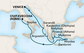 14 noches - Venecia a Roma