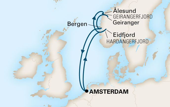 A bordo del MS Koningsdam